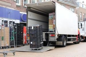 emelőhátfalas hűtős teherautó
